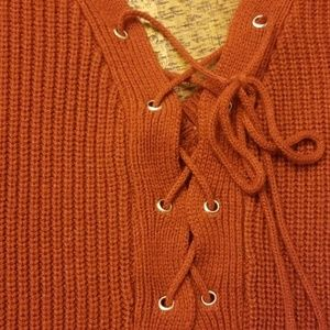 Charlotte Russe Sweaters - Rust sweater🍂